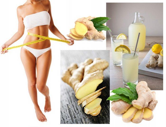 как похудеть с имбирем